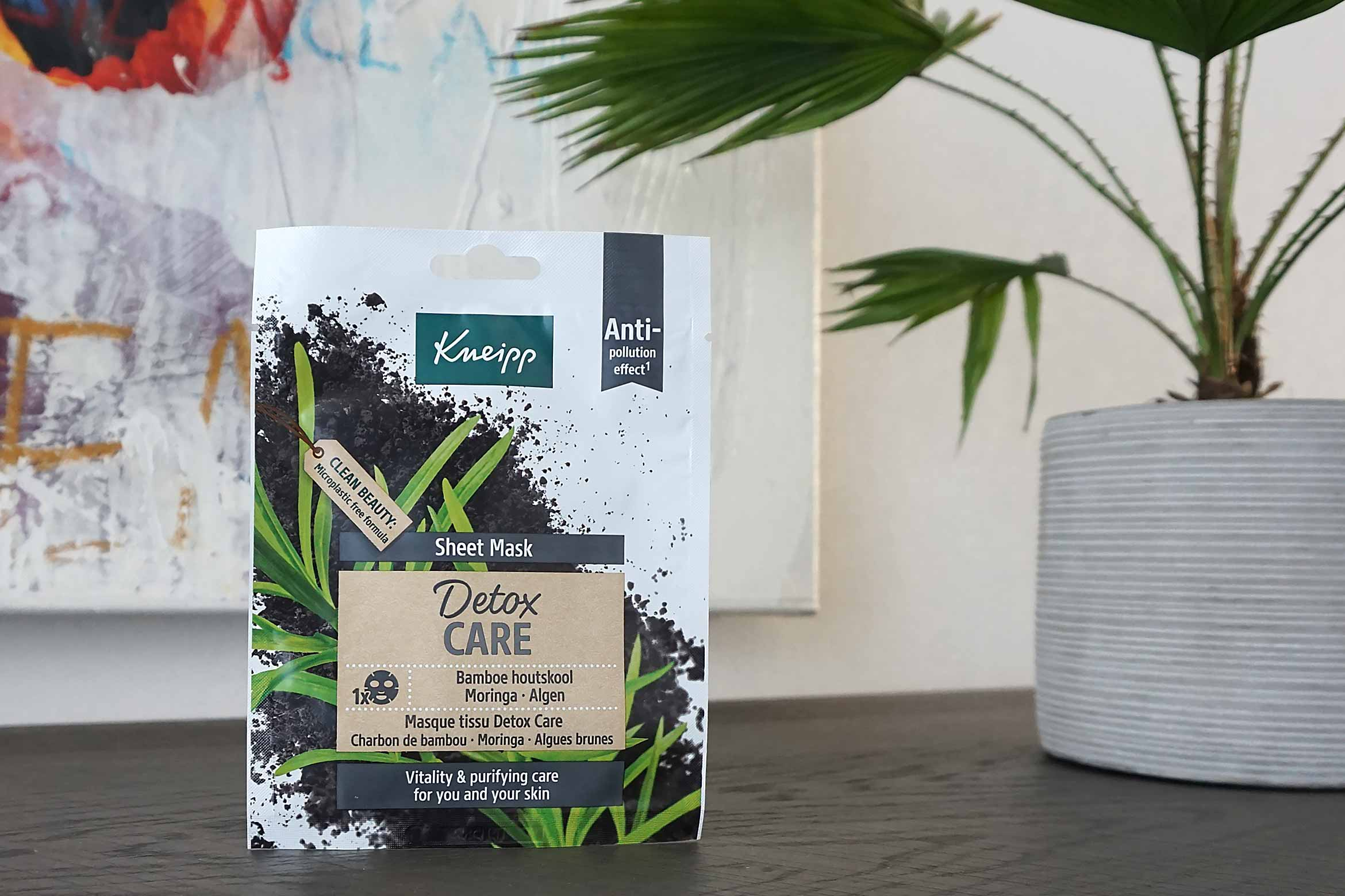 kneipp sheet mask detox care review