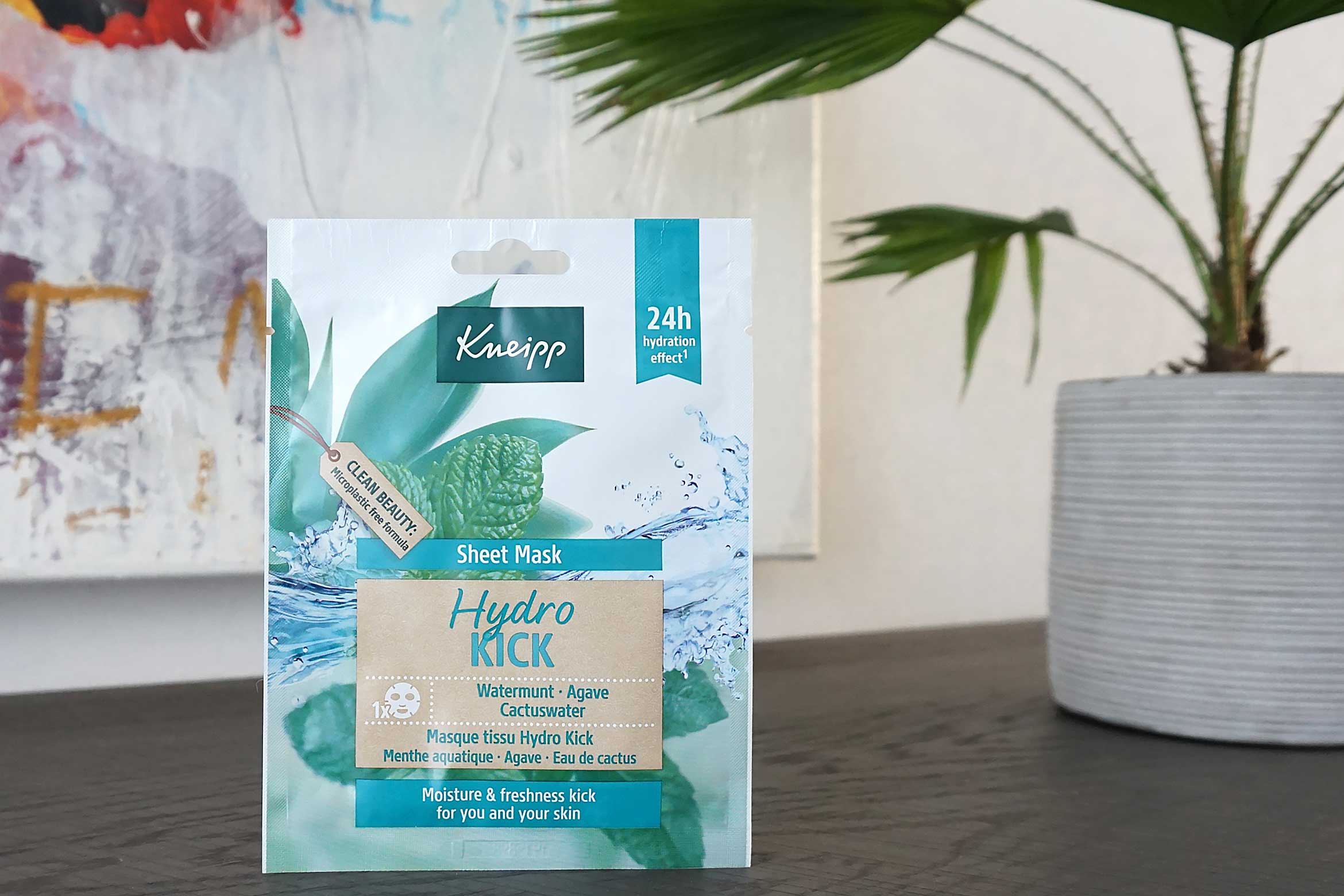 kneipp sheet mask hydro kick review
