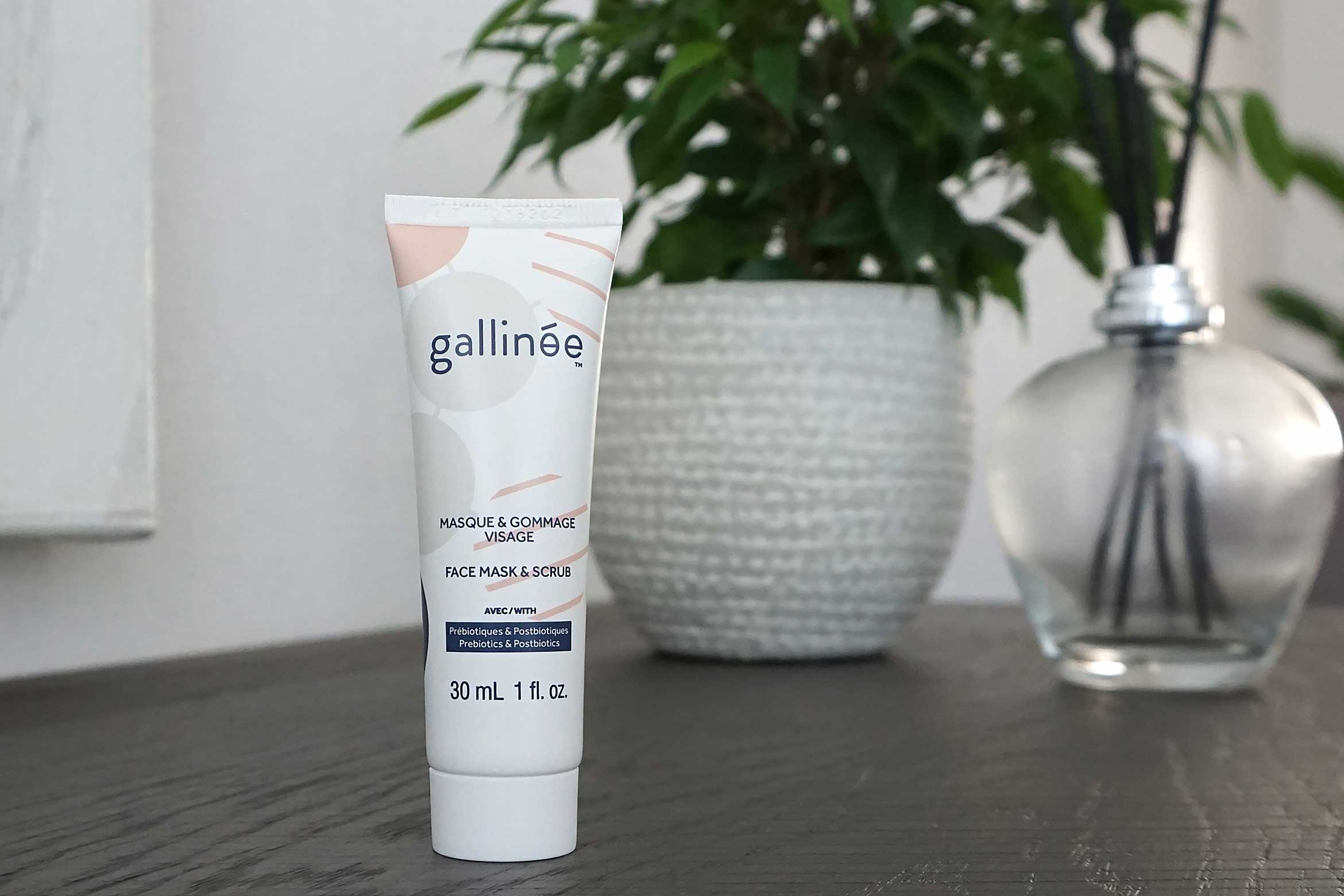 gallinee face mask scrub review