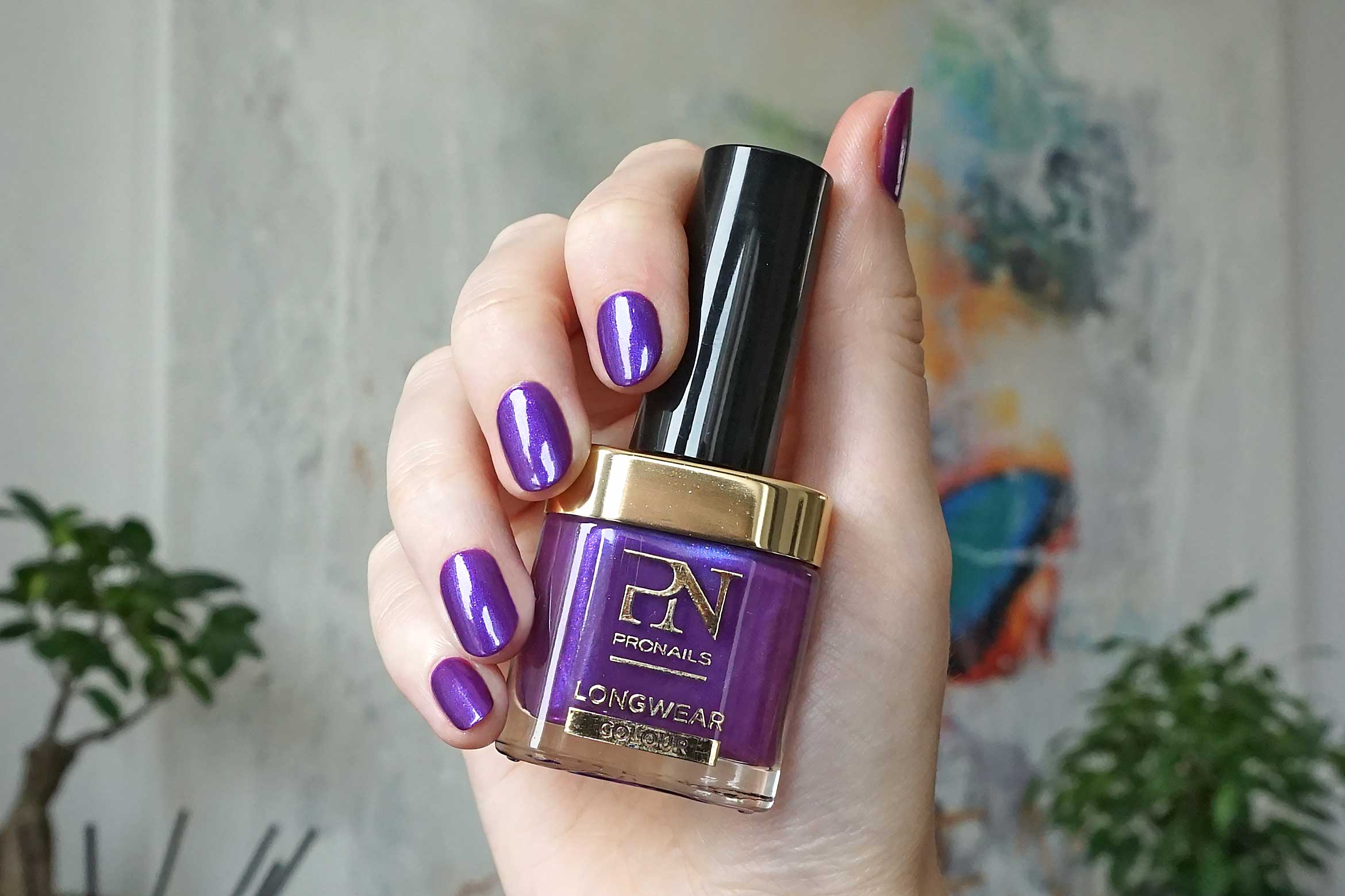 pronails longwear colour review purple haze swatch-1