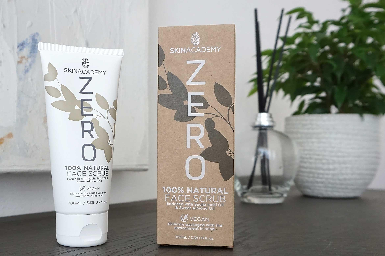 skinacademy zero face scrub review