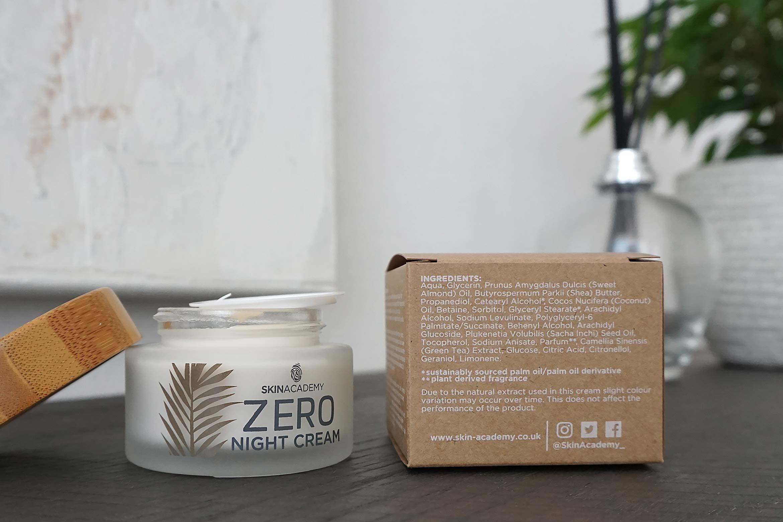 skinacademy zero night cream review-1