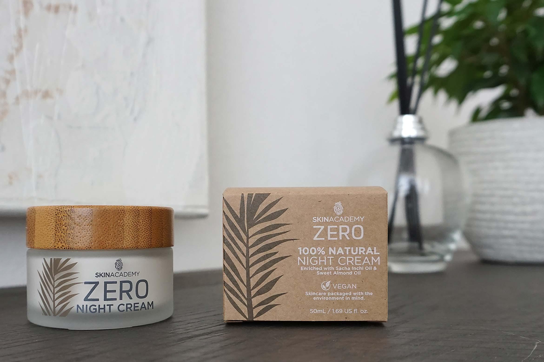 skinacademy zero night cream review