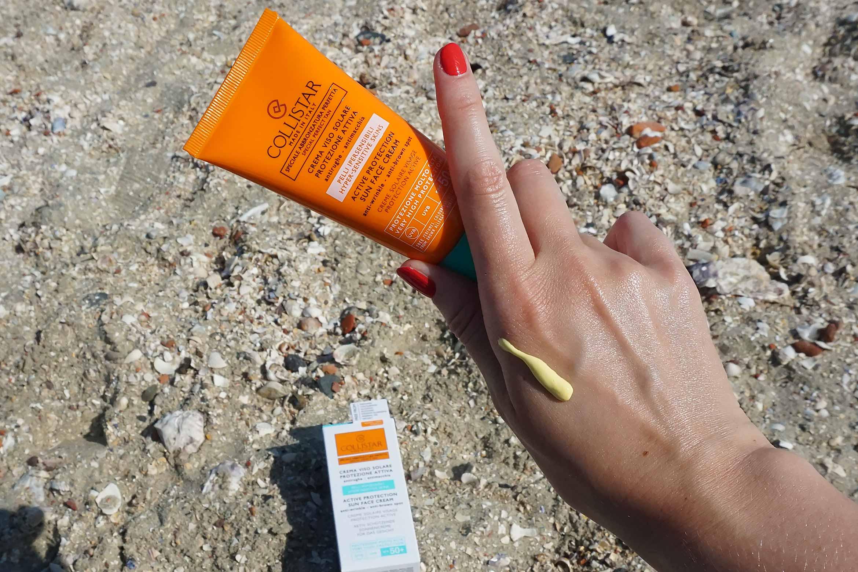 Collistar Active Protection Sun Face Cream review-2