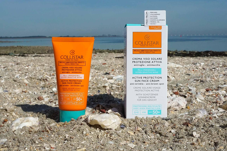 Collistar Active Protection Sun Face Cream review
