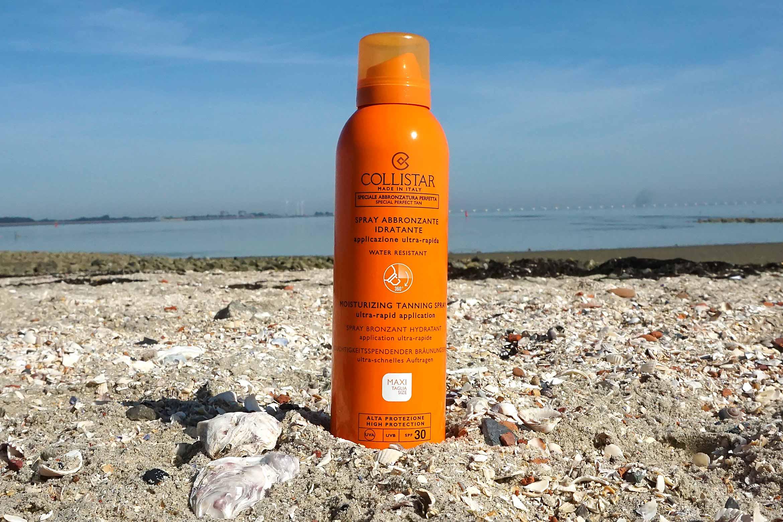 collistar moisturizing tanning spray review
