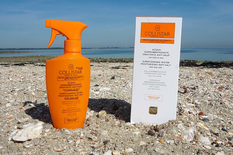 collistar supertanning water moisturizing anti-salt review