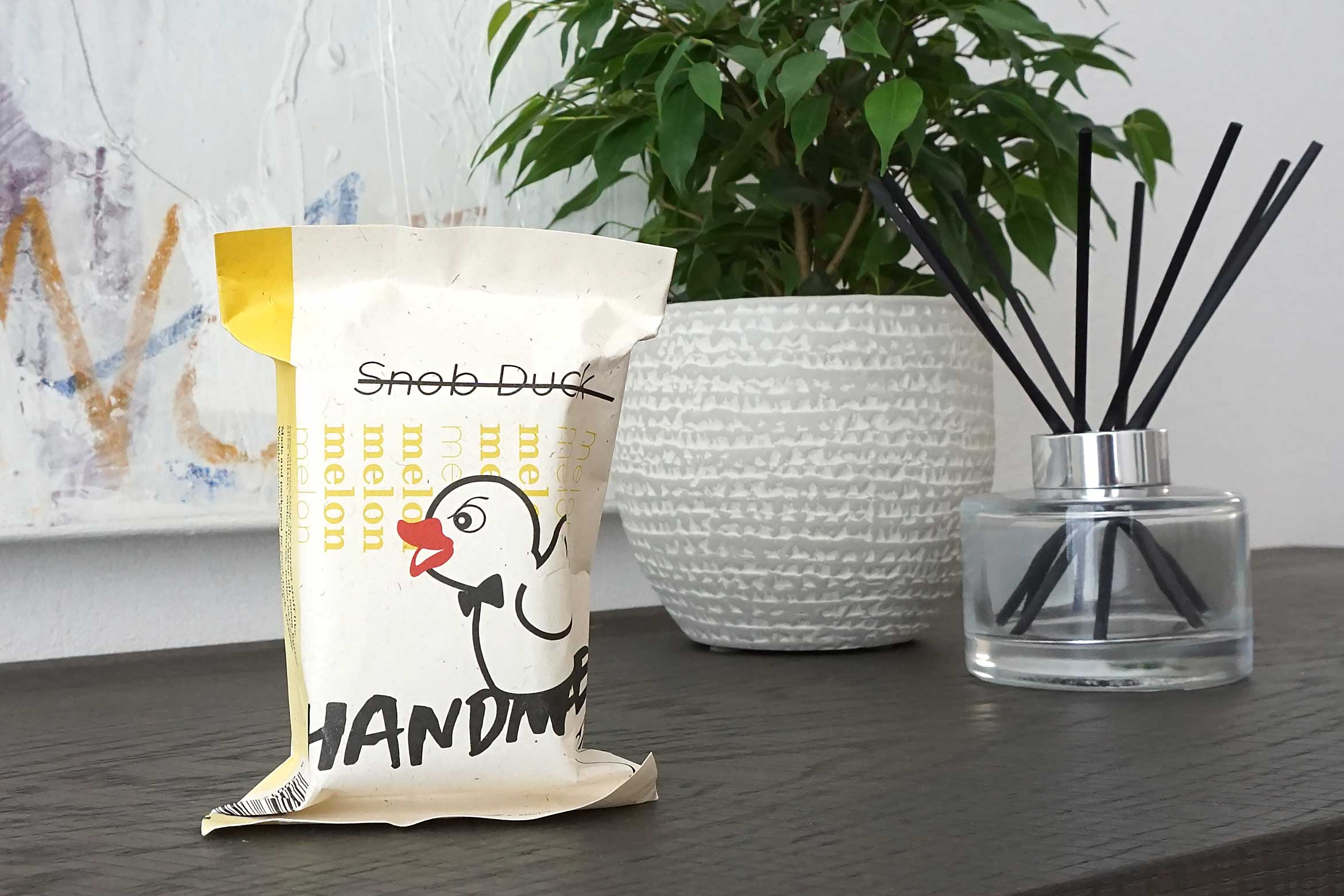 snob duck soap review