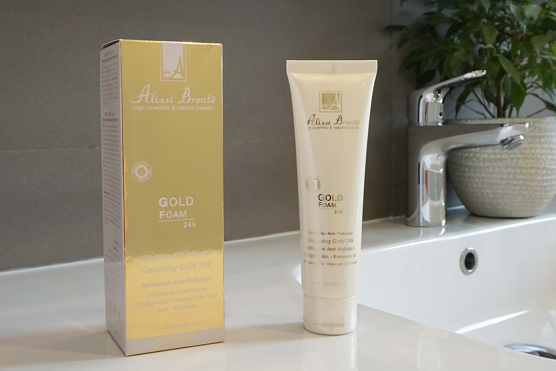 alissi bronte gold foam thermal make-up remover review