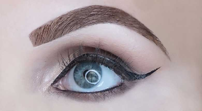 eyeko skinny brush mascara review look