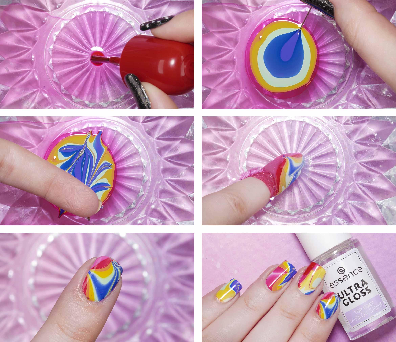 pride amsterdam nail art