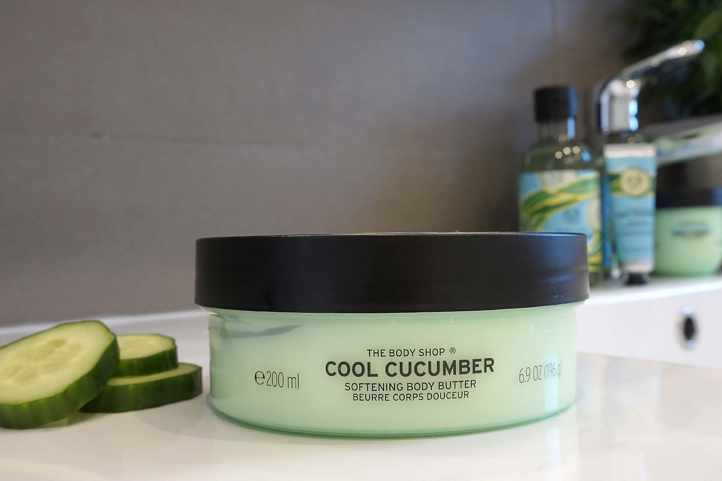 the body shop cool cucumber body butter review