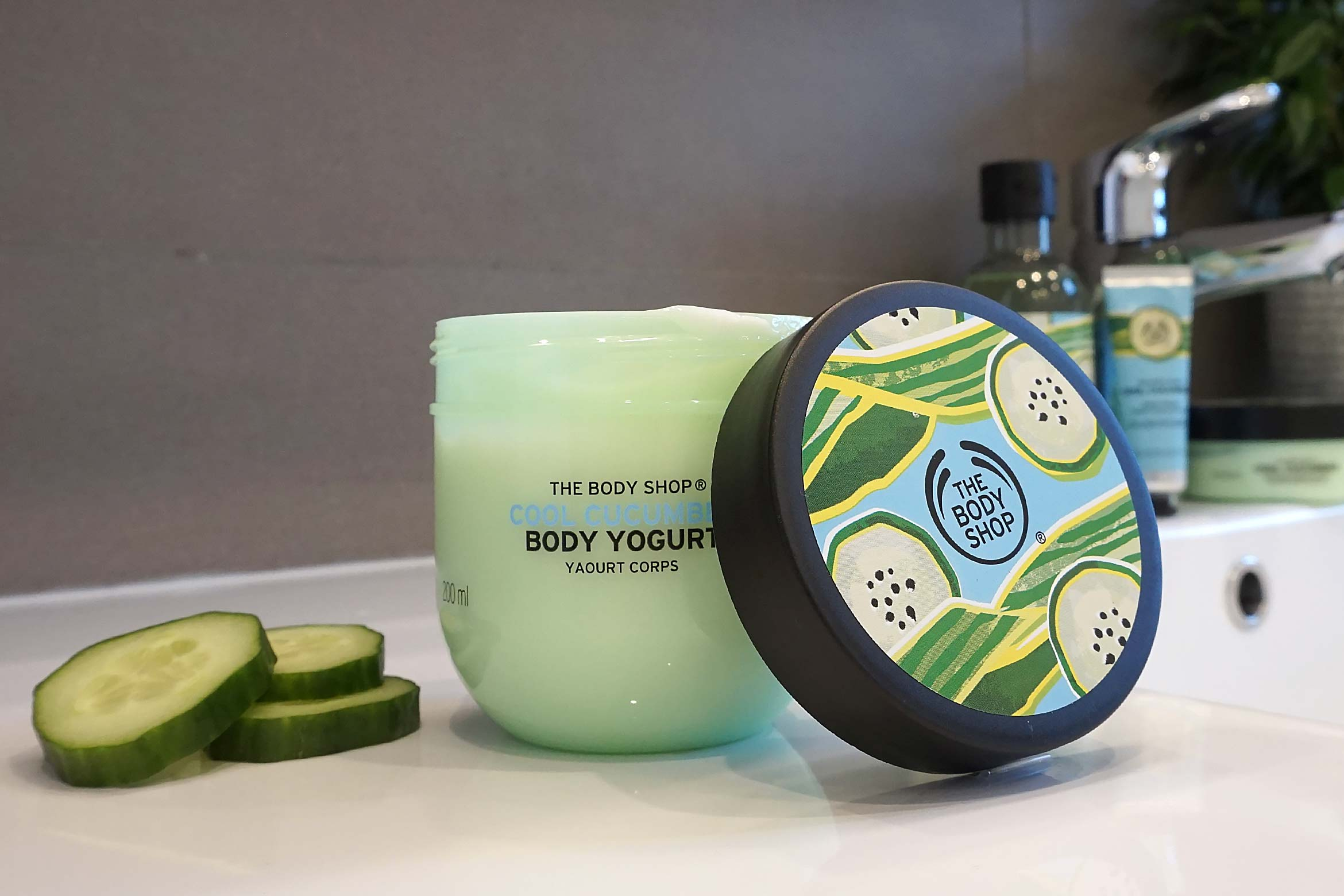 the body shop cool cucumber body yoghurt review