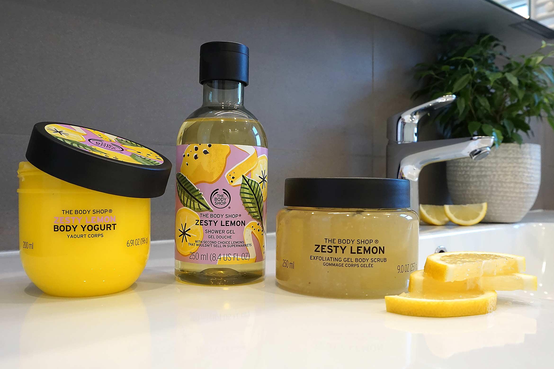 the body shop zesty lemon review