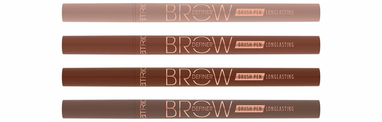 catrice brow definer brush pen longlasting