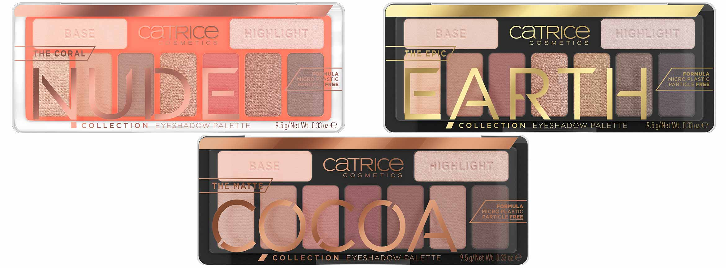 catrice the collectioin eyeshadow palette