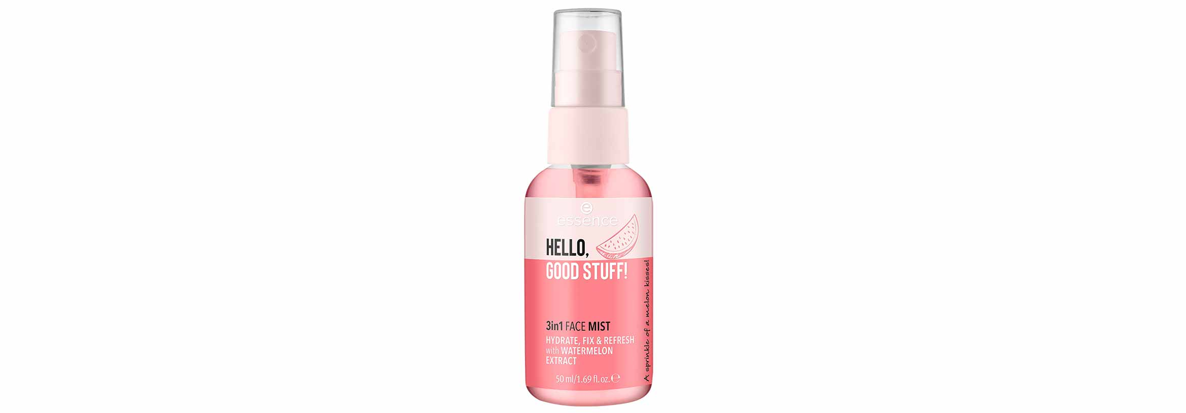 essence hello, good stuff 3in1 face mist
