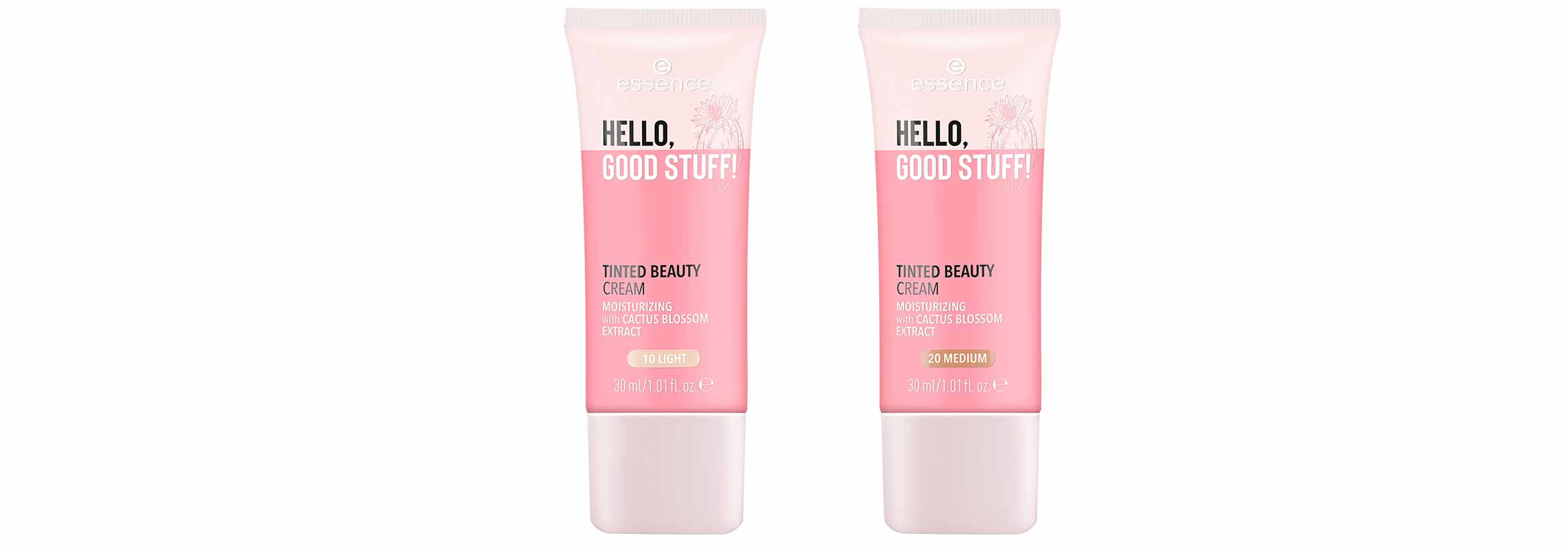 essence hello, good stuff tinted beauty cream