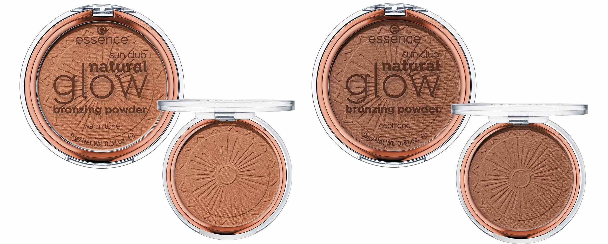 essence sun club natural glow bronzing powder