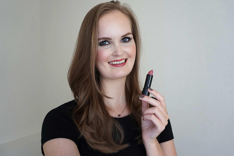 max & more lipstick matt swatch 327 rusty rose review-2