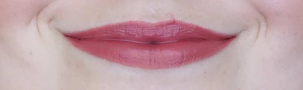 max & more lipstick matt swatch 327 rusty rose review-3