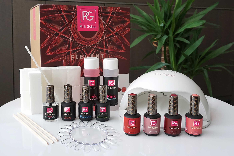 pink gellac premium vogue starterset review-1
