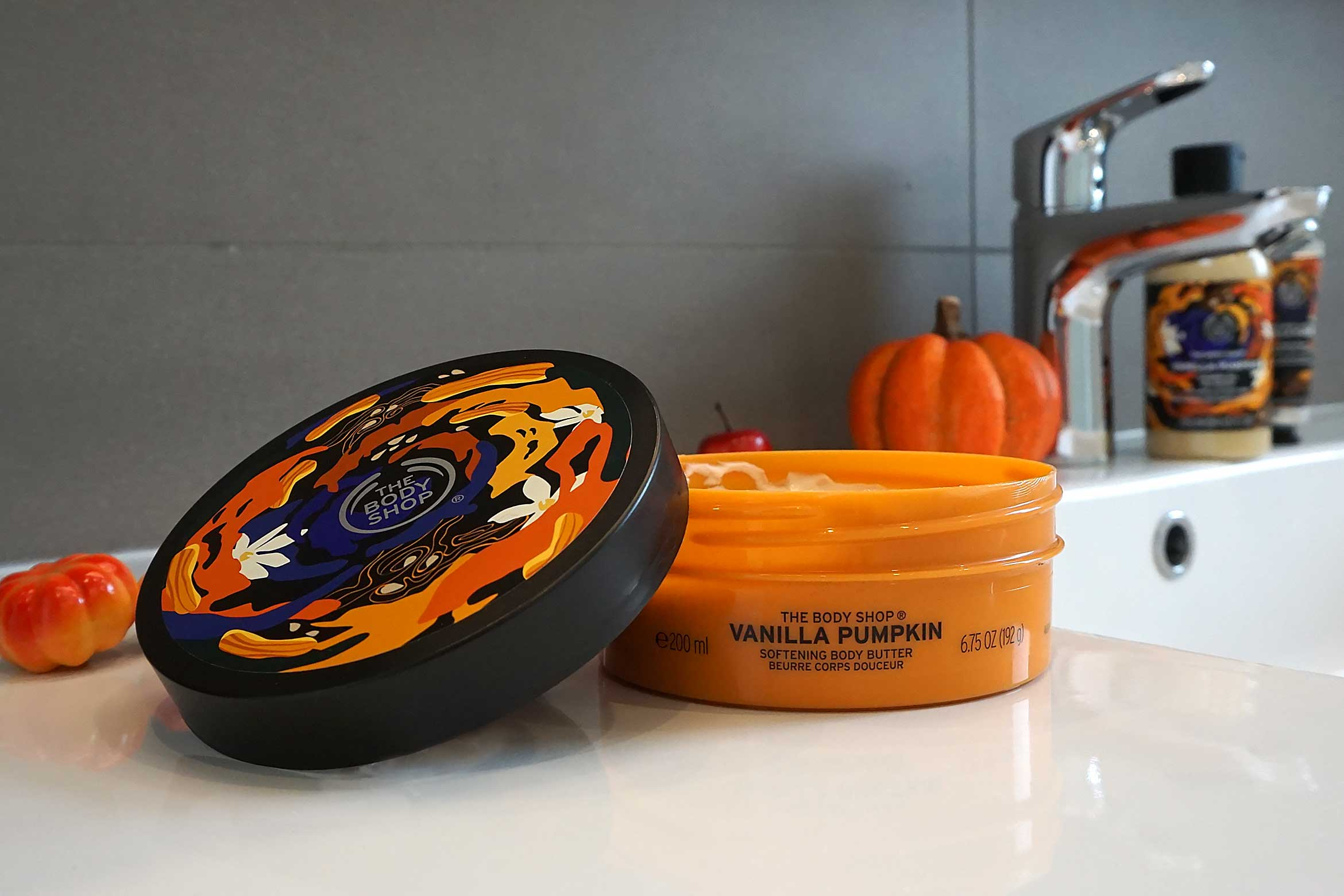 the body shop vanilla pumpkin body butter review
