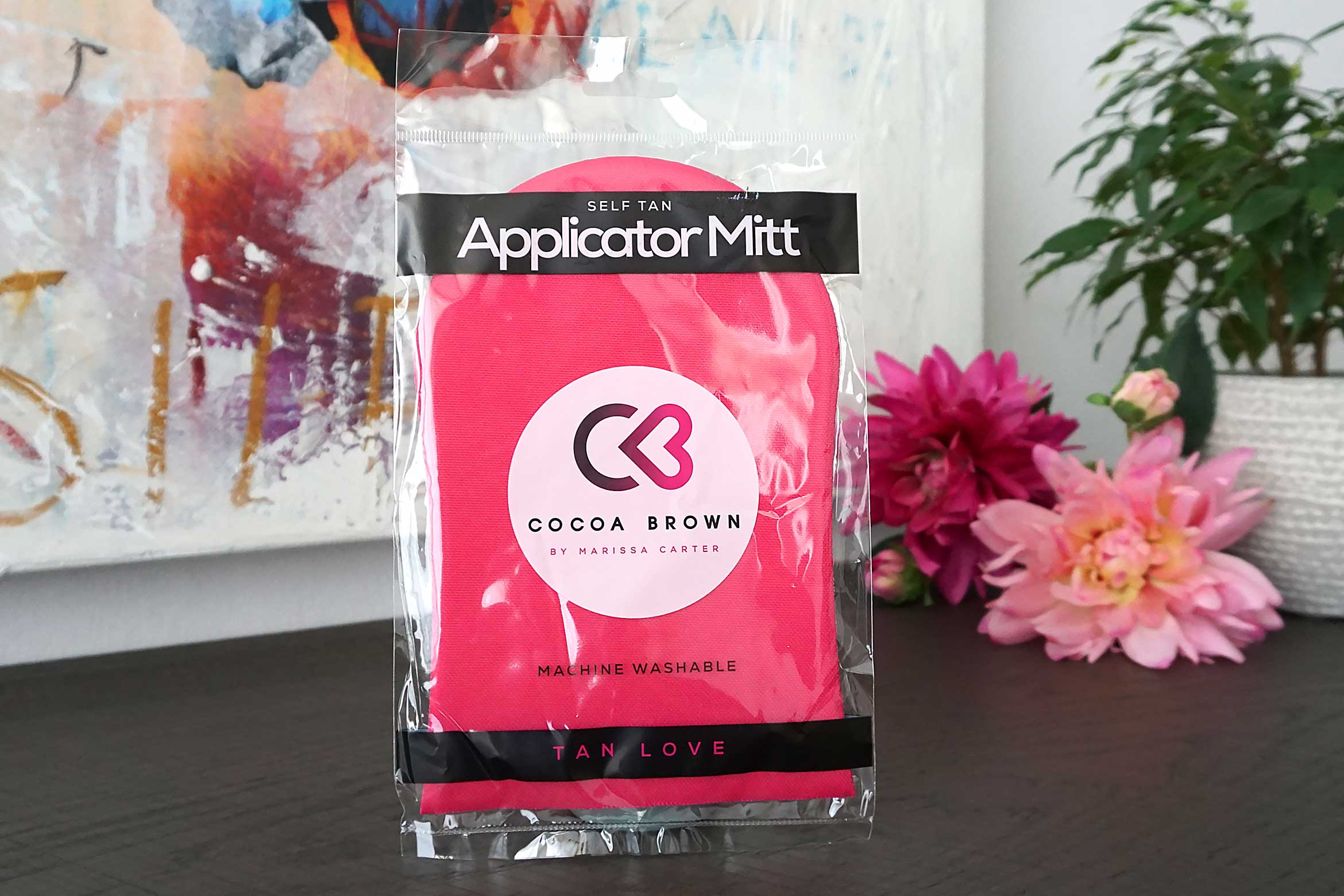 Cocoa Brown applicator mitt review