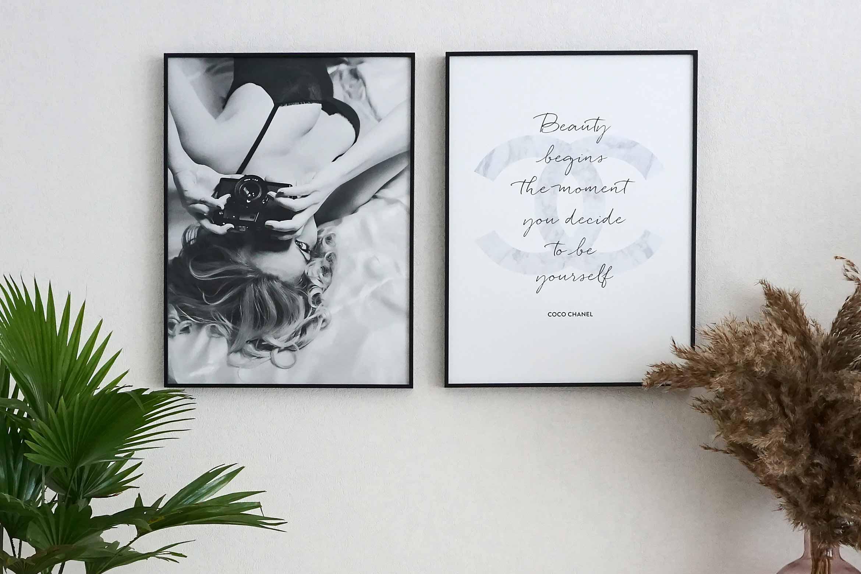 poster beauty mode