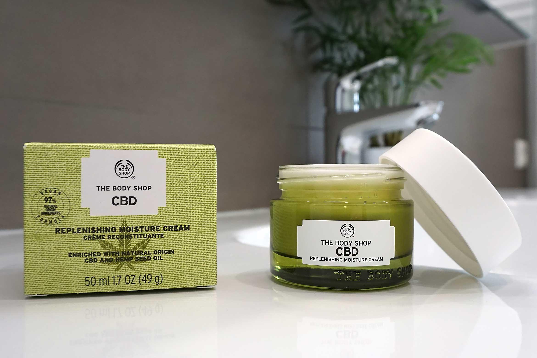 cbd replenishing moisture cream review