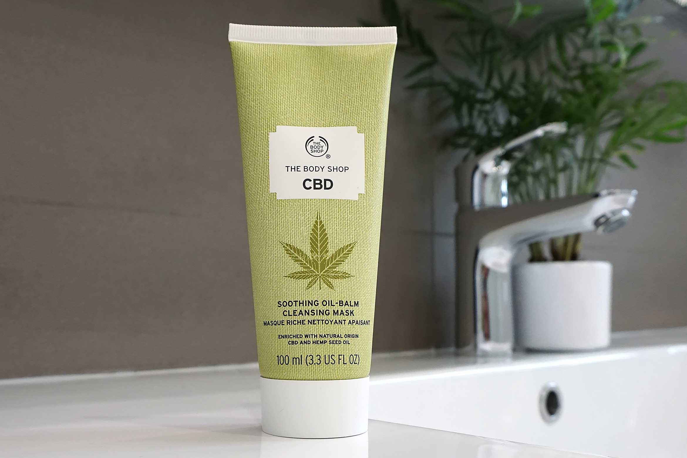 cbd soothing oil balm cleansing mask review