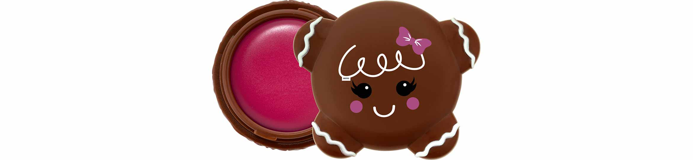 essence x-mas wishes candy kisses gingerbread lip balm