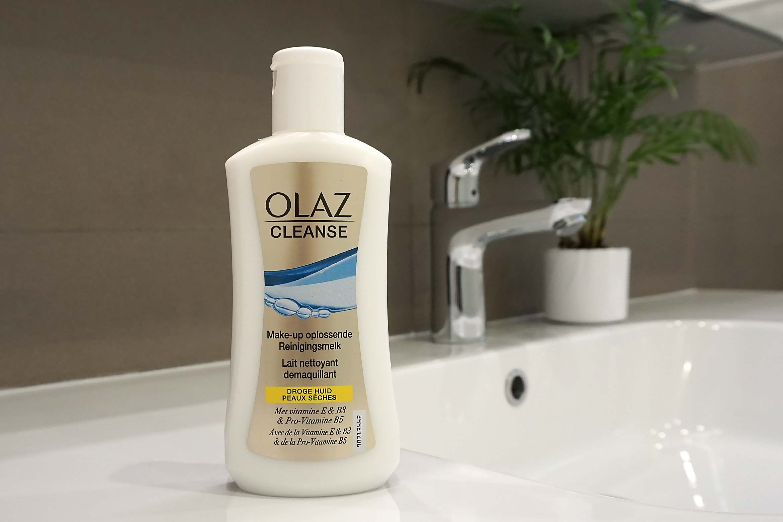 olaz cleanse make up oplossende reinigingsmelk review