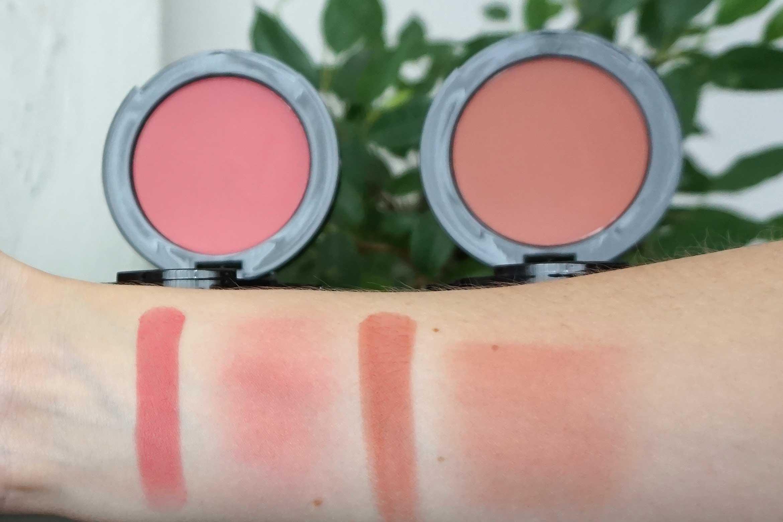 sla paris blush pink in cheek swatch review