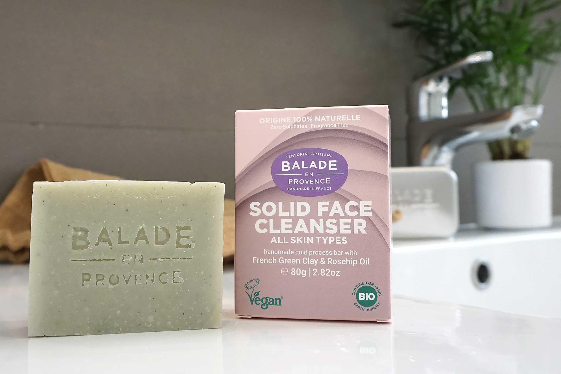 balade en provence solid face cleanser review