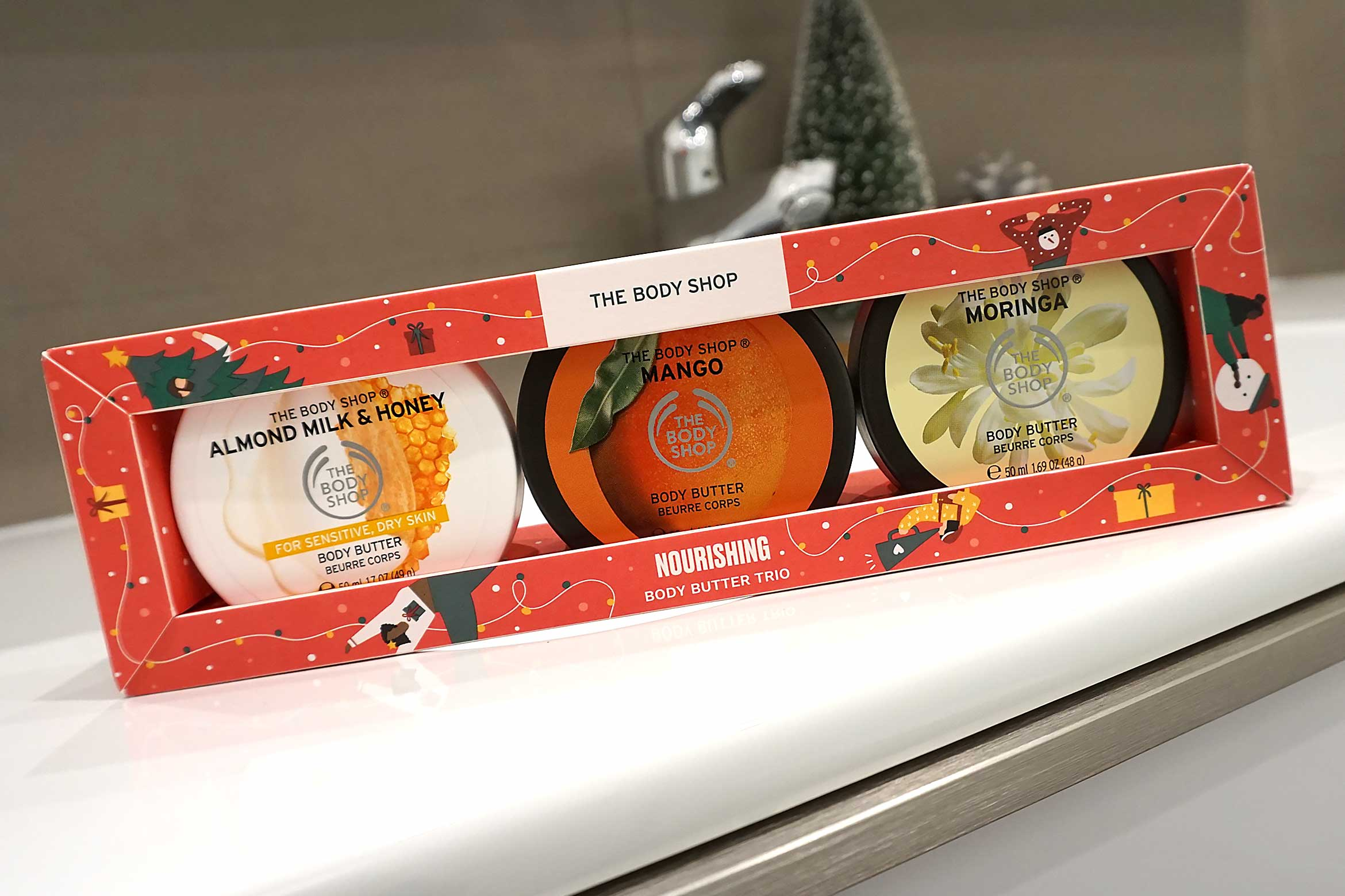 the body shop body butter trio review