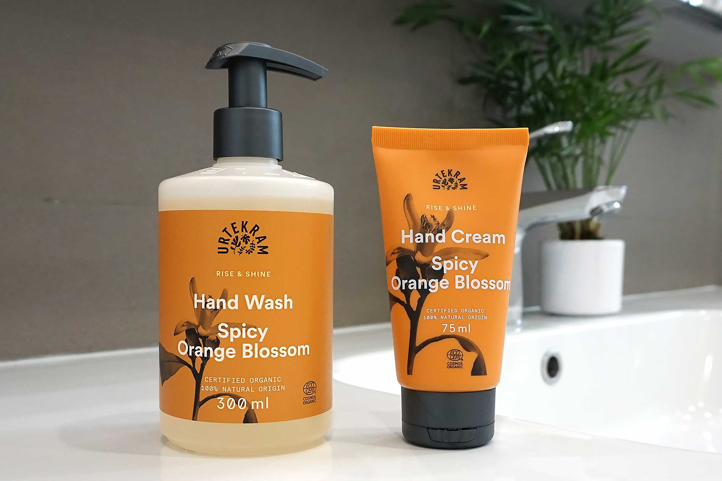 urtekram rise shine hand wash hand cream review
