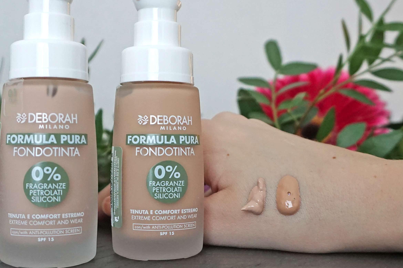 Deborah Milano Formula Pura foundation review-1