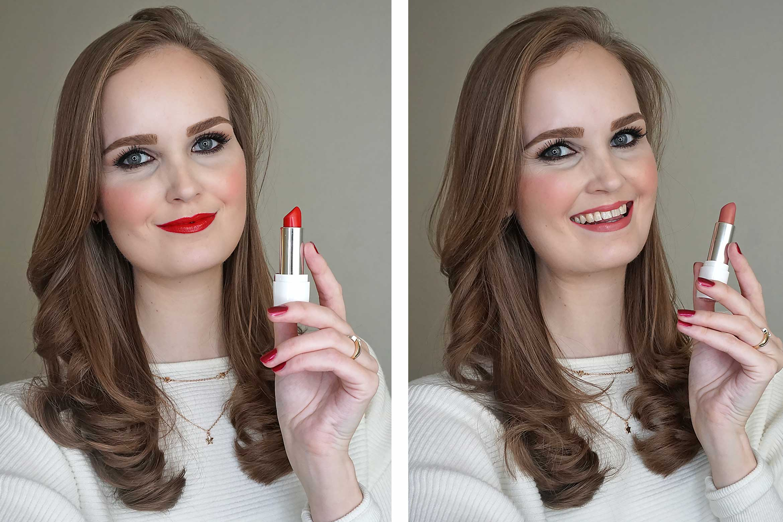 Deborah Milano Formula Pura lipstick swatch-1