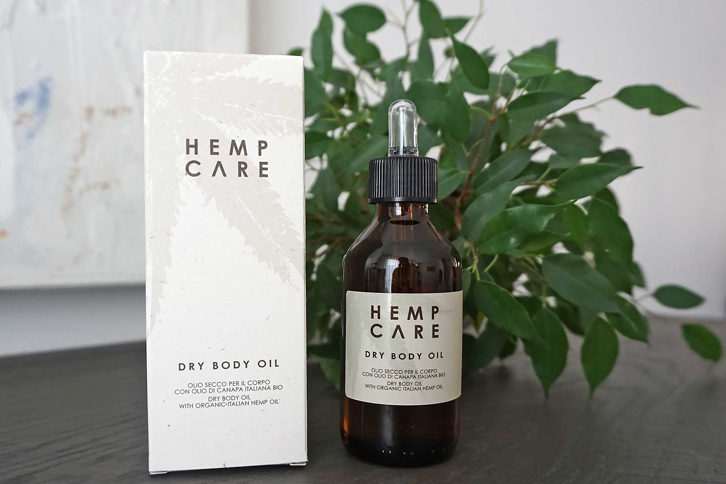 hemp care dry body oil review