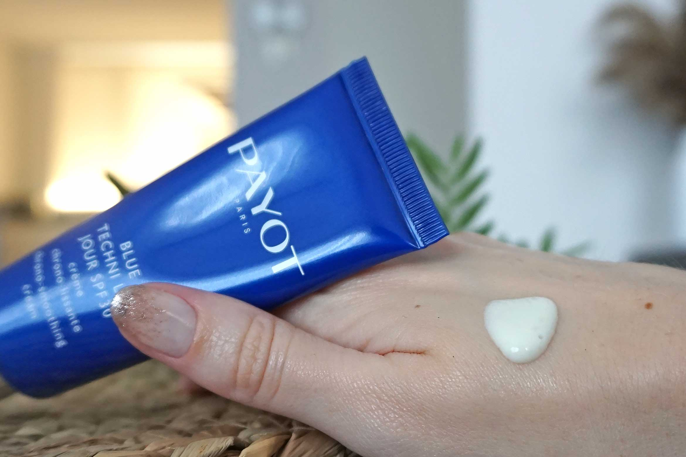 payot blue techni liss jour spf 30 review-2