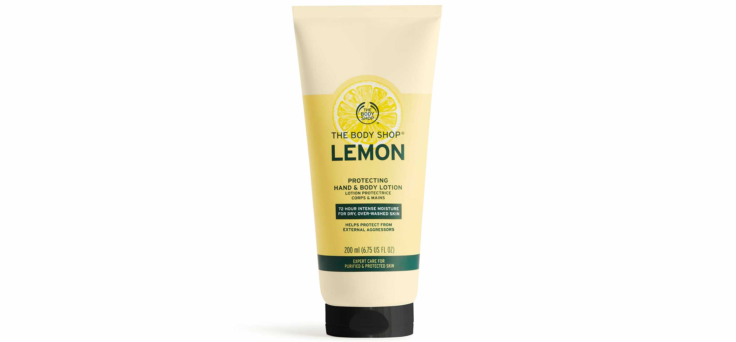 the body shop lemon protecting hand & body lotion