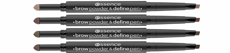 essence brow powder define pen