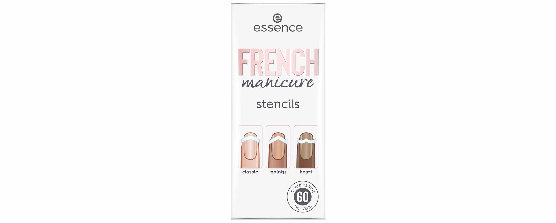 essence french manicure stencils