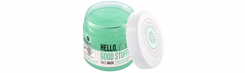 essence hello good stuff face mask