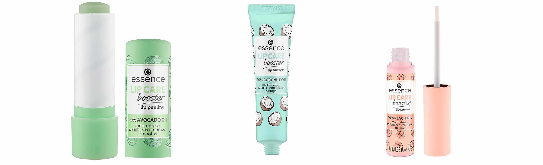 essence lip peeling lip butter lip serum