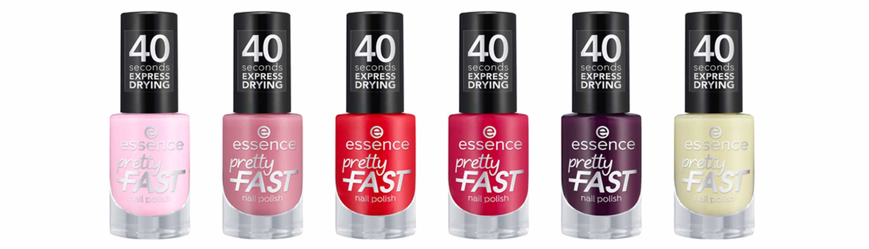essence pretty fast nail polish