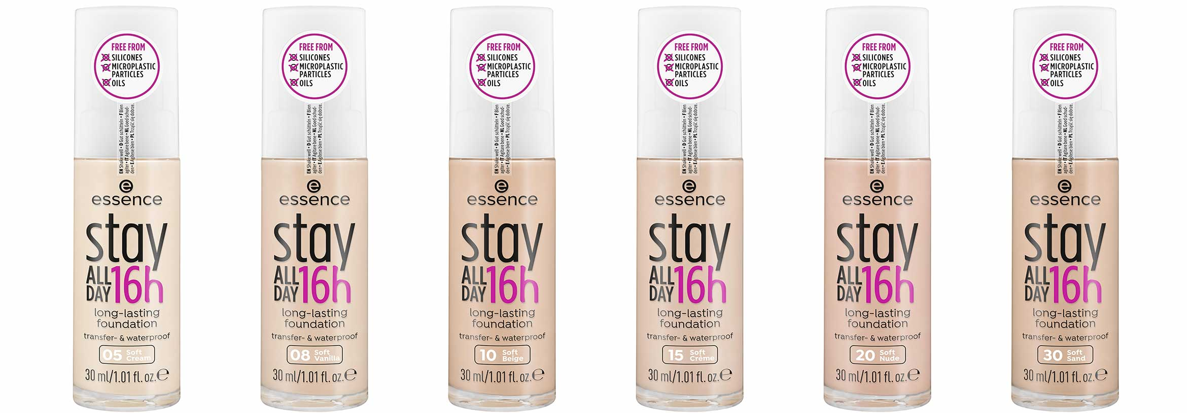 essence relaunch stay all day 16h foundation