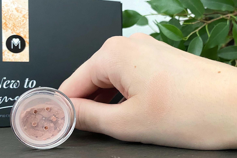 mineralissima minerale blush swatch flirt review