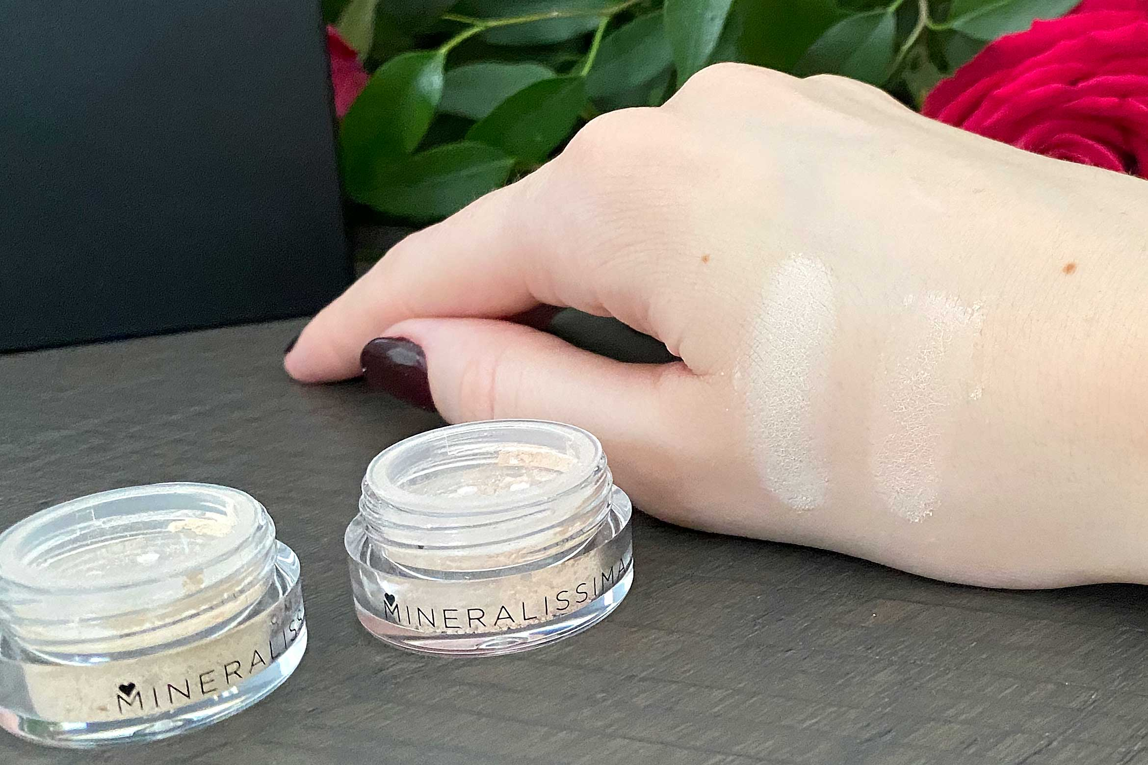 mineralissima minerale foundation swatch beech birch review